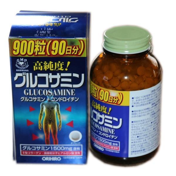 謝恩特価 オリヒロ 高純度グルコサミン粒徳用 900粒(90日分)|sotome|03