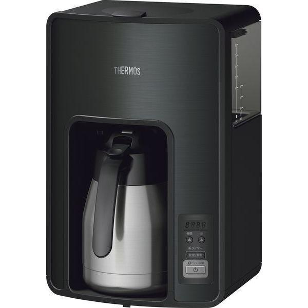 早く届く 即日か翌日には出荷 大容量真空断熱ポット サーモス   コーヒーメーカー ECH-1001 BK |sotome