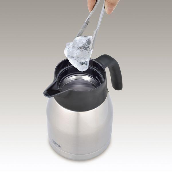 早く届く 即日か翌日には出荷 大容量真空断熱ポット サーモス   コーヒーメーカー ECH-1001 BK |sotome|02