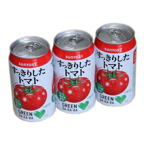 ポイント消化に すっきり トマト GREEN DAKARA サントリーグリーンダカラ  350g缶 ケース売 |sotome|04