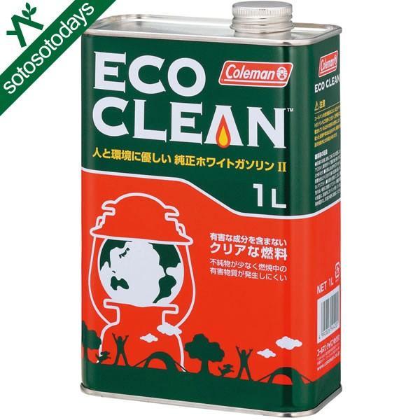 コールマン 燃料 エコクリーン/1L 純正ホワイトガソリン燃料 170-6759