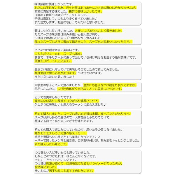 東京高円寺 麺処 田ぶし つけ麺 3食入り これが本物のつけ麺だ 北海道沖縄離島は追加送料1500円|sougous|07