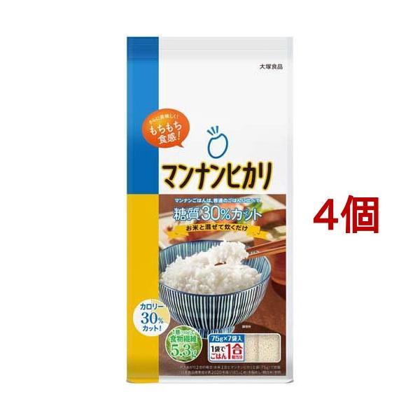 マンナンヒカリ スティックタイプ ( 75g*7袋入*4コセット )/ マンナンヒカリ