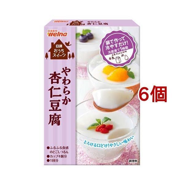 日清 お菓子百科 やわらか杏仁豆腐 ( 60g*6コ )/ お菓子百科