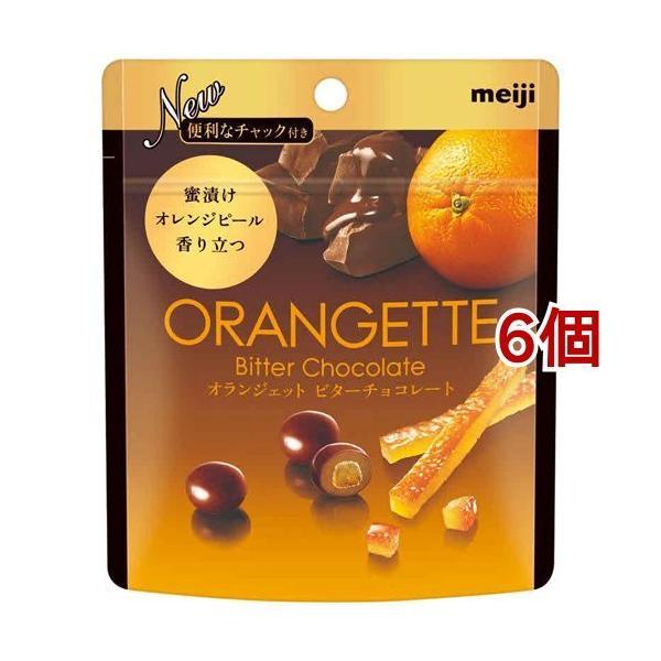 オランジェット ビターチョコレート ( 49g*6コセット )