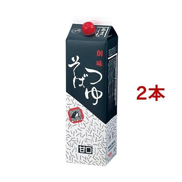 創味食品 そばつゆ 甘口  業務用 ( 1.8L*2コセット )/ 創味