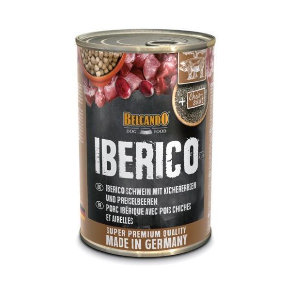 ベルカンド イベリコ豚 ひよこ豆とリンゴンベリー ( 400g*6缶入 )/ BELCANDO