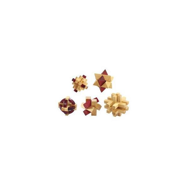 大人の木製パズル 5点 145-225 ( 1セット )