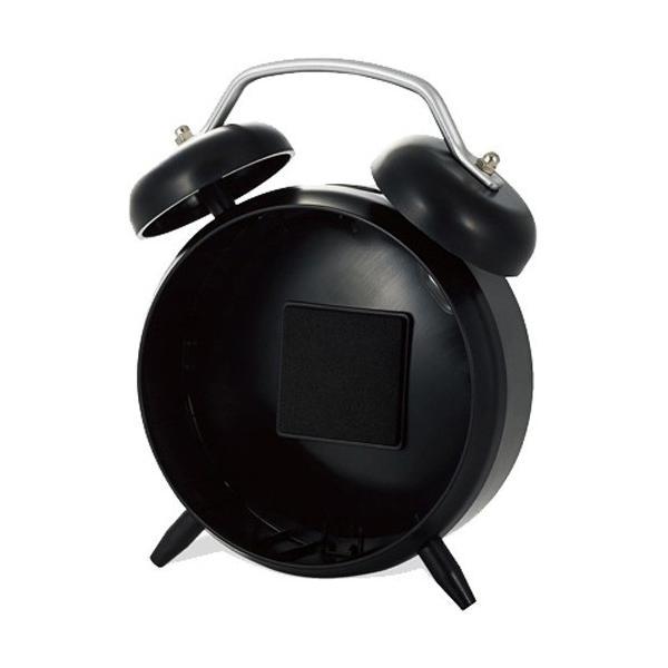 エレコム Google Home Mini用クロックスタンド AIS-GHMCLBK ブラックの画像