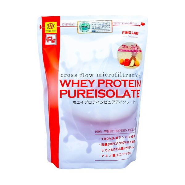 ファインラボ ホエイプロテイン ピュアアイソレート ミックスフルーツ風味 ( 1kg )/ ファインラボ