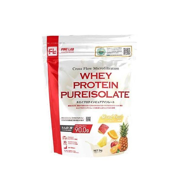 ファインラボ ホエイプロテイン ピュアアイソレート ミックスフルーツ風味 ( 2kg )/ ファインラボ