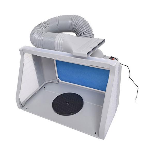 サンコー LEDライト付パワフルファン塗装ブース デラックス BRUSHBT5 ( 1個 )