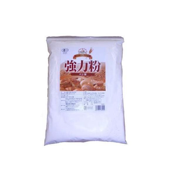 オーガニック小麦粉 強力粉 ( 1kg )/ 健友交易