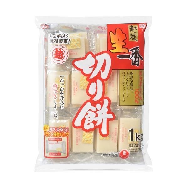 越後製菓 生一番 切りもち ( 1kg ) ( 餅 )