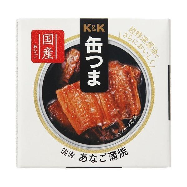K&K 缶つま 国産 あなご蒲焼 ( 40g )/ K&K 缶つま