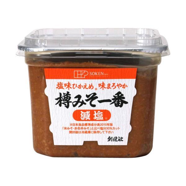 創健社 樽みそ一番 減塩 ( 750g )