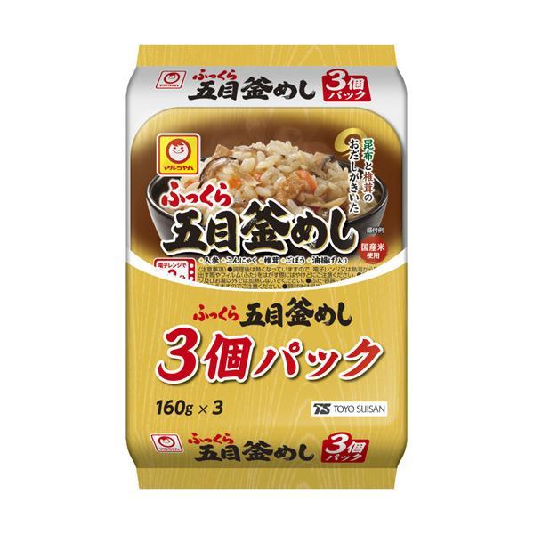 マルちゃん ふっくら五目釜めし3P ( 160g*3個パック )/ マルちゃん