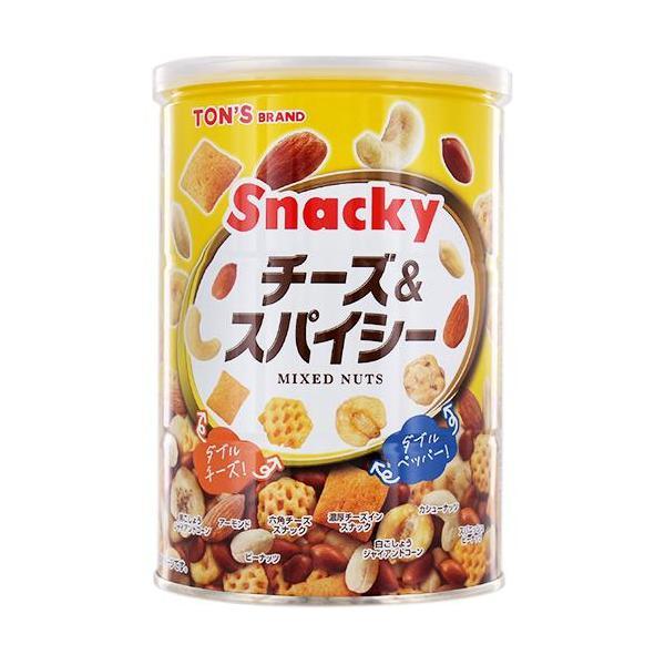 東洋ナッツ食品 チーズ&スパイシー 缶 ( 300g )/ TON'S