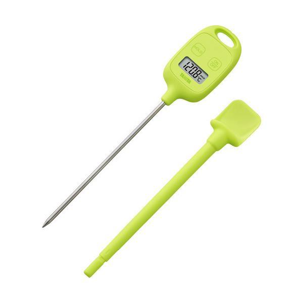 タニタ デジタル温度計 グリーン TT-583-GR ( 1台 )/ タニタ(TANITA)