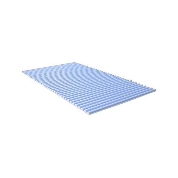風呂ふた カラフル カラーウェーブ L14 75*140cm用 ブルー ( 1本入 )