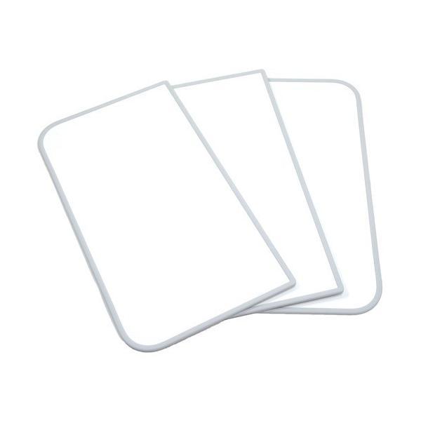 組み合せ 防菌・防カビ風呂ふた センセーション L15 75*150cm用 3枚割り 両面ホワイト ( 3枚入 )