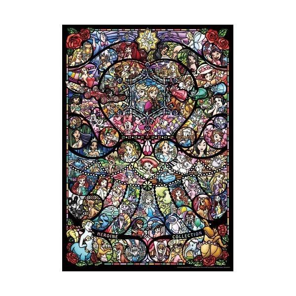 DP1000-028 ディズニー&ディズニー/ピクサーヒロインコレクション ステンドグラス ( 1コ入 )