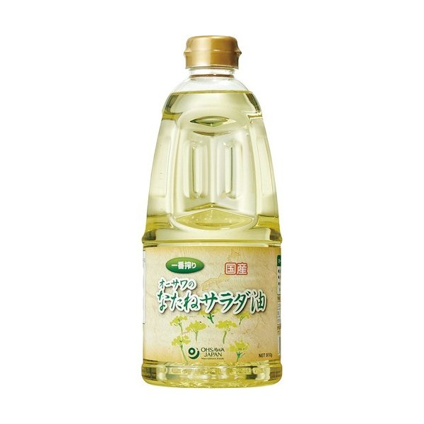 オーサワの国産なたねサラダ油 ( 910g )/ オーサワ