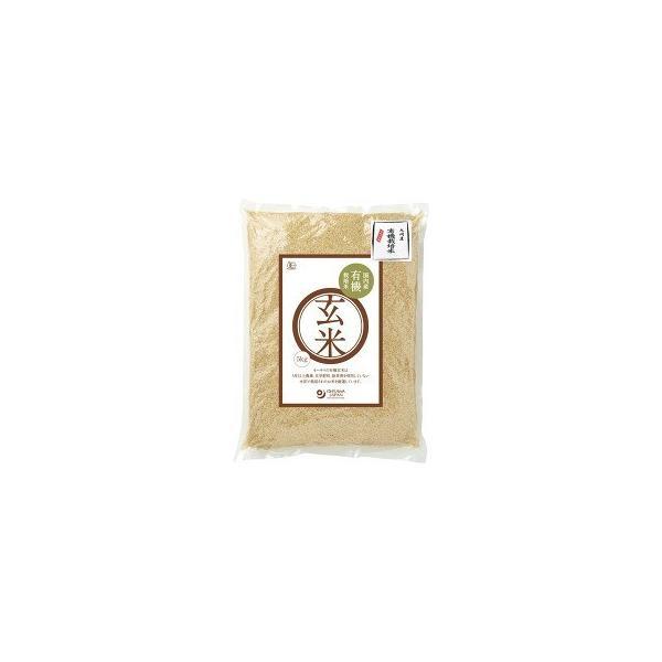 オーサワ 有機栽培米 玄米 九州産 ( 5kg )/ オーサワ