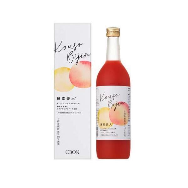 シーボン 酵素美人 赤 ピンクグレープフルーツ味 ( 720ml )/ シーボン