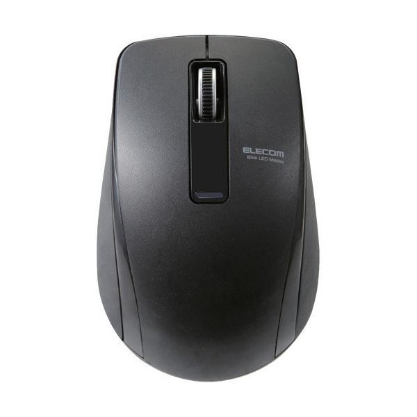 エレコム Bluetoothマウス/3ボタン M-BT19BBBK ブラックBluetooth 4.0対応のBlueLEDワイヤレスマウス(3ボタン)の画像