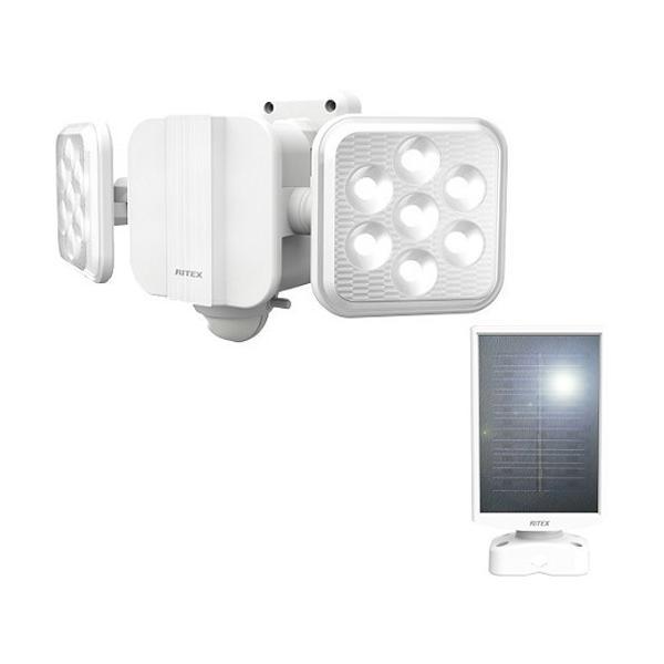 5W*2灯 フリーアーム式 LED高機能 ソーラーセンサーライト S-220L ( 1台 )