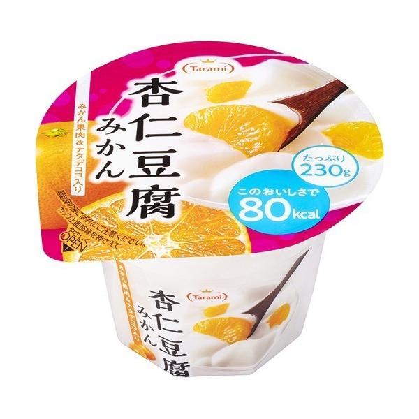 たらみ 杏仁豆腐 80kcaL みかん ( 230g*6個 )/ たらみ