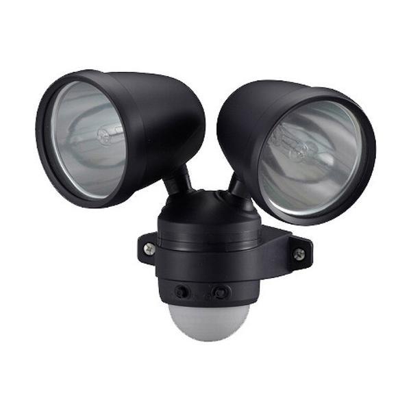 ハロゲンセンサーライト 75W*2灯 ES752 ( 1個 )/ OHM