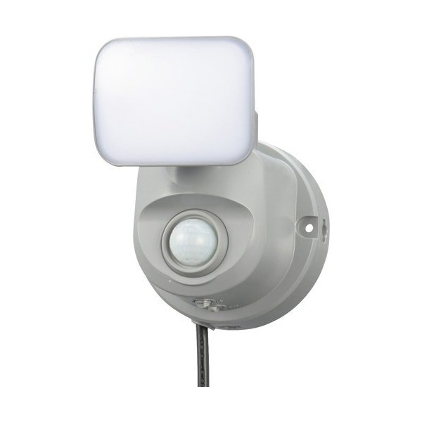 LEDセンサーライト 人感・明暗 コンセント式 1灯 OSE-LS400/07-8069 ( 1コ )/ OHM