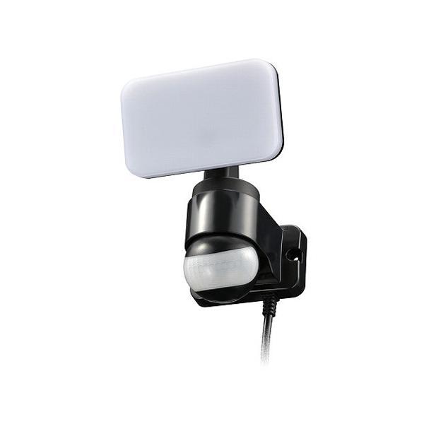 リモコン付LEDセンサーライト 1灯 コンセント式 R-LS600 ( 1個 )/ OHM