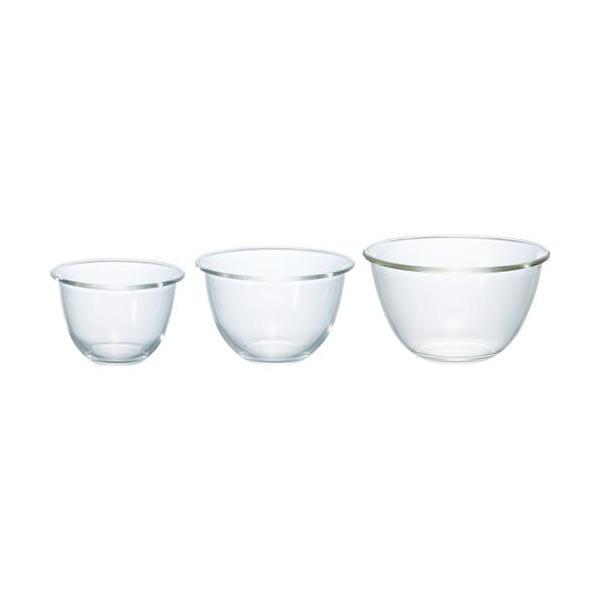 ハリオ 耐熱ガラス製ボウル ( 3個セット )/ ハリオ(HARIO)