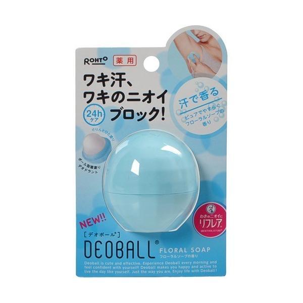デオボール フローラルソープの香り <医薬部外品> 15g