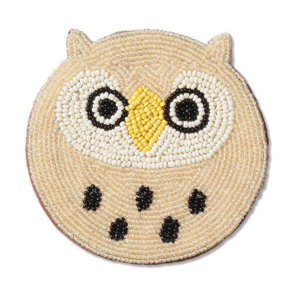 RoomClip商品情報 - ビーズコースター アクト OWL ( 1枚入 )