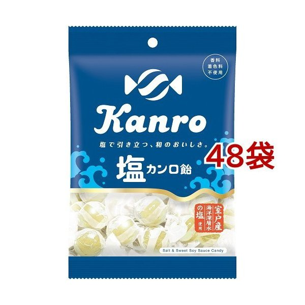 塩 カンロ飴 ( 140g*48袋セット )