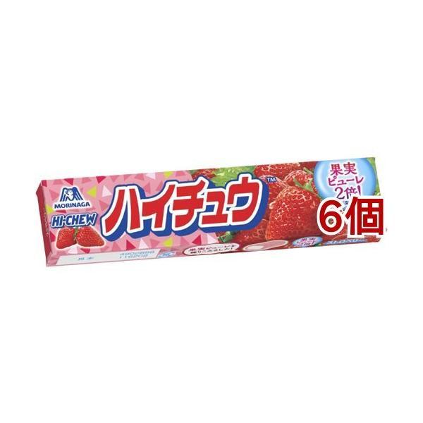 森永 ハイチュウ ストロベリー ( 12粒*6個セット )/ ハイチュウ