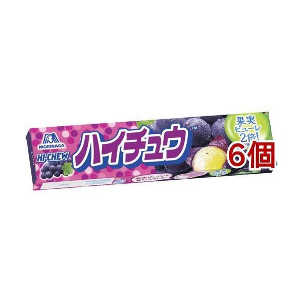 森永 ハイチュウ グレープ ( 12粒*6個セット )/ ハイチュウ