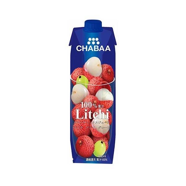 チャバ 100%ミックスジュース ライチ ( 1L )