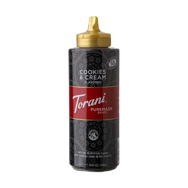 (訳あり)トラーニ ピュアメイドソース クッキー&クリームソース ( 468g )/ Torani(トラーニ)