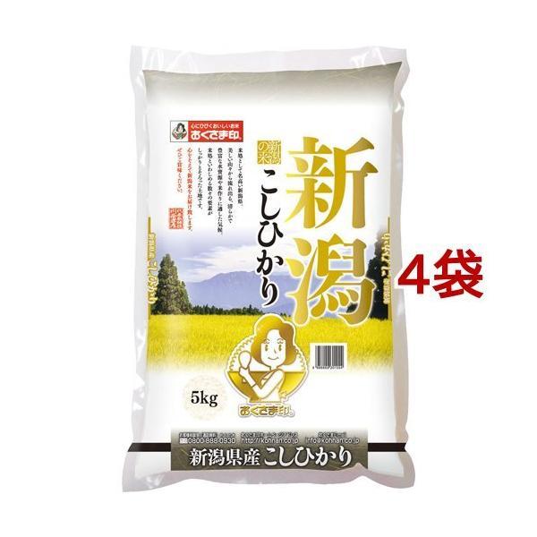 令和元年度産 新潟県産コシヒカリ(国産) ( 5kg*4袋セット(20kg) )/ おくさま印