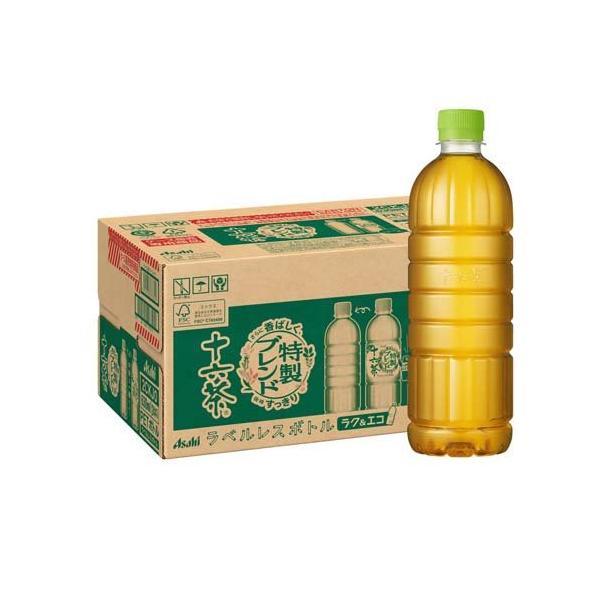 アサヒ 十六茶 ラベルレスボトル ( 630ml*24本入 )/ 十六茶