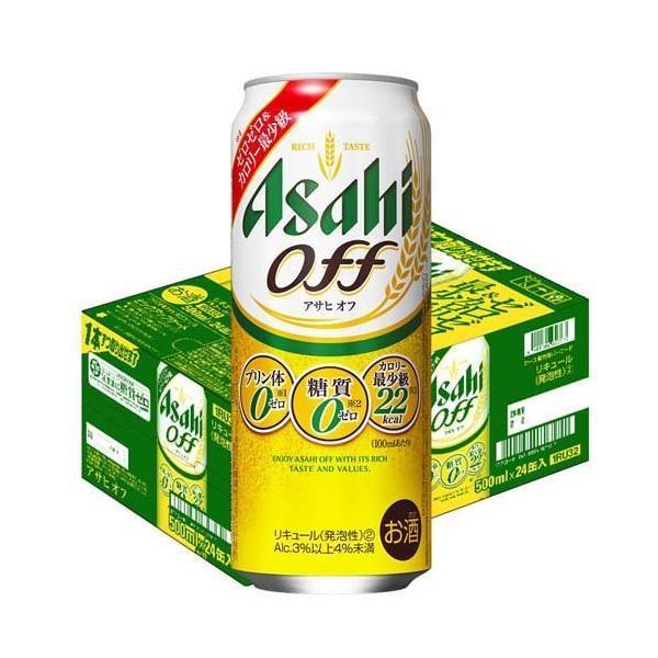 アサヒオフ缶(500ml*24本入)/アサヒオフ
