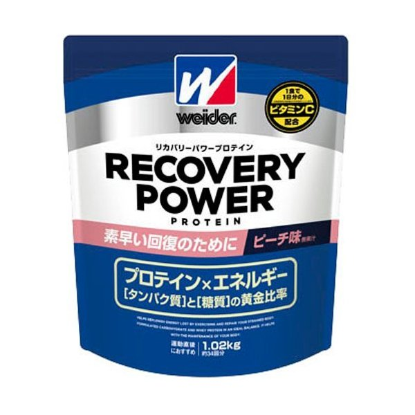 ウイダー リカバリーパワープロテイン ピーチ味 ( 1.02kg )/ ウイダー(Weider)