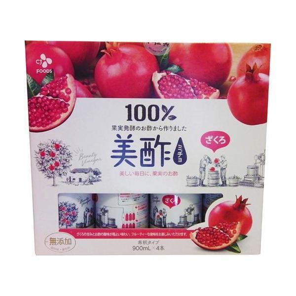 美酢(ミチョ)ざくろ(900ml*4本入)/美酢(ミチョ)