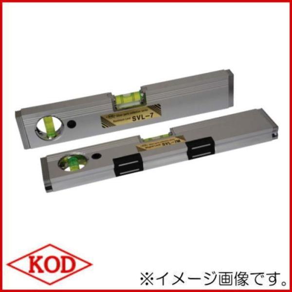 SLV-7M マグネット付箱型アルミレベルV溝付 450mm 水平器 アカツキ製作所 KOD