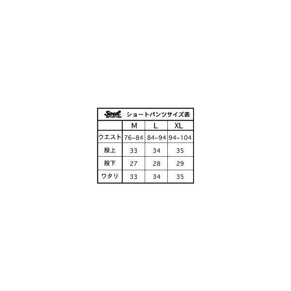 SOUL SPORTSオリジナル ラインショーツ 吸汗速乾素材 soul-sports 05
